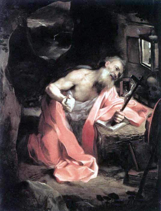 BAROCCI Federico Fiori St Jerome. Итальянские художники