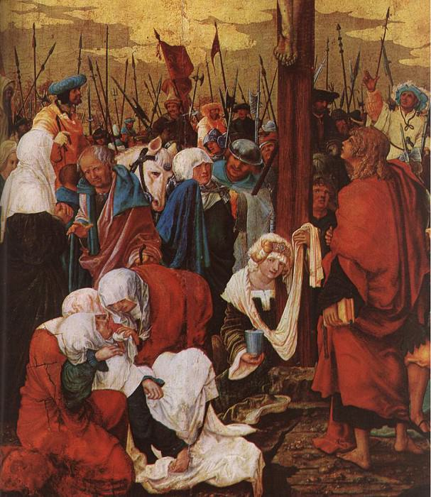 ALSLOOT Denis van Christ On The Cross 1520 Detail 1. The Italian artists