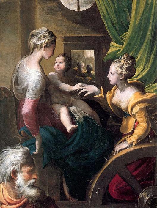 Parmigianino (Italian, 1503-1540) 3. The Italian artists