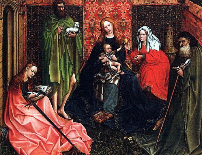 Campin, Robert, Follower of (Italian, 1400s). The Italian artists