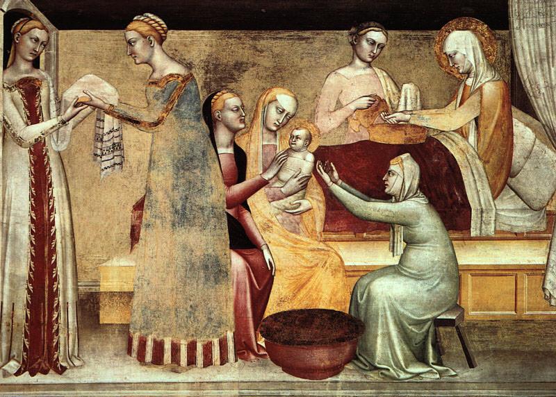 Джованни да Милано (итальянец, упоминается в документах 1346-69 г.г.). Итальянские художники