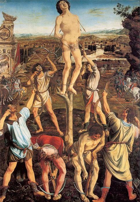 Pollaiuolo, Antonio (Italian, Approx. 1431-1498) 5. Итальянские художники