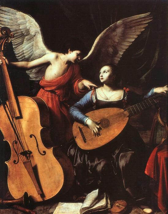 Saraceni, Carlo (Italian, approx. 1580-1620) 1. The Italian artists