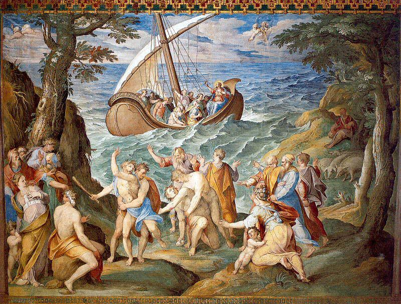 Pomarancio (Italian, Approx. 1530-96). Итальянские художники