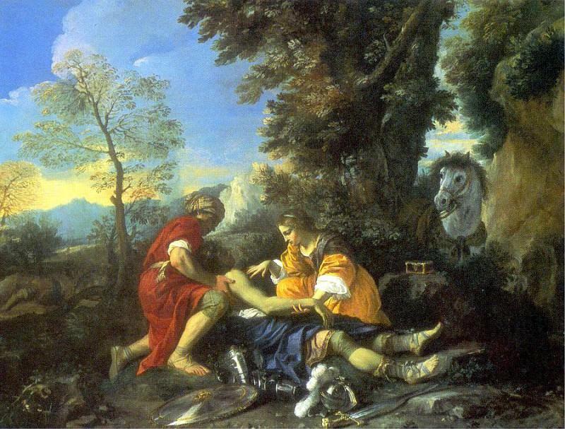 Mola, Pier Francesco (Italian, approx. 1612-1668) 2. The Italian artists