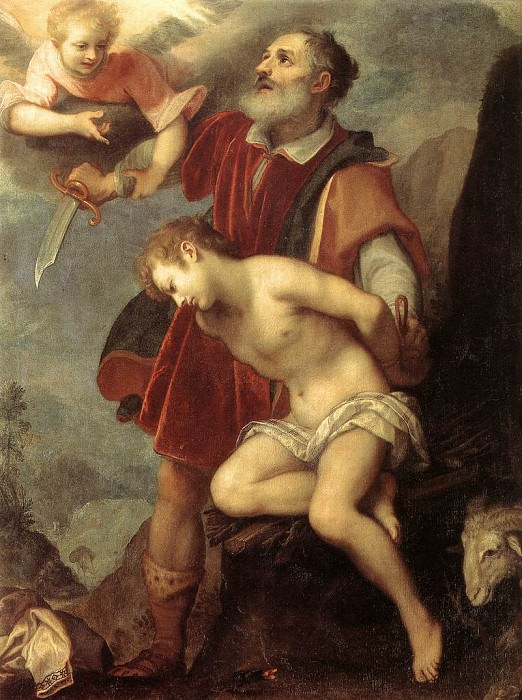 CIGOLI The Sacrifice Of Isaac. The Italian artists