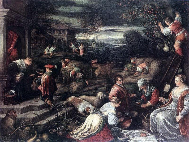 BASSANO Francesco Summer. Итальянские художники