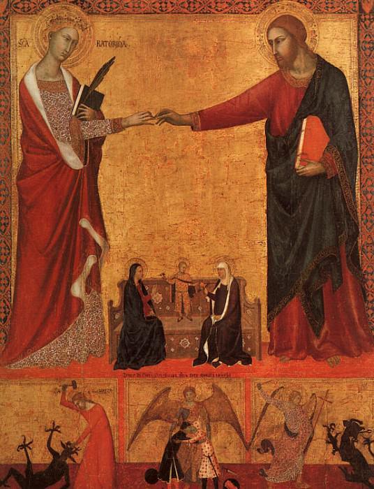 siena1. Итальянские художники