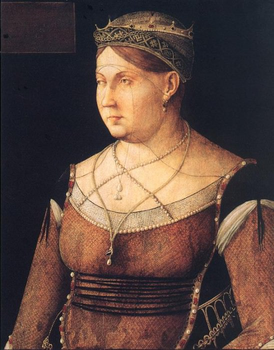 Portrait of Catharina Cornaro EUR. Итальянские художники
