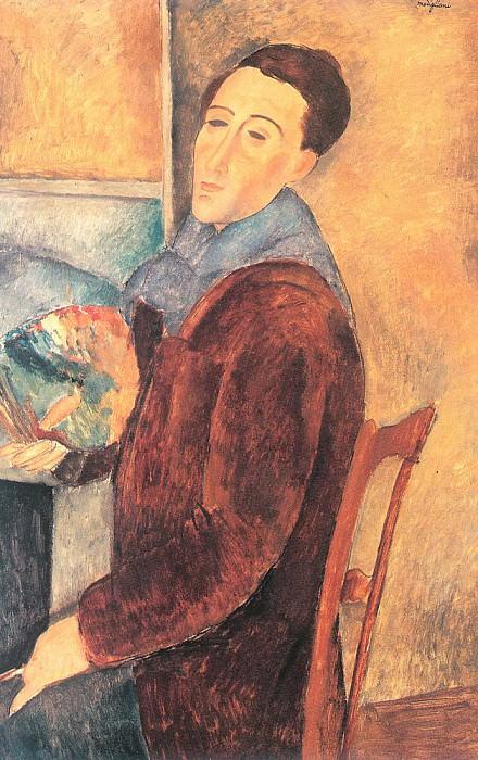 Modigiliani, Amedeo (Italian, 1884-1920) 5. Итальянские художники
