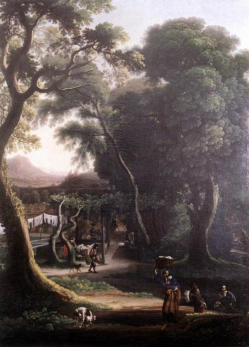 ANGELUCCIO Rural Scene. The Italian artists