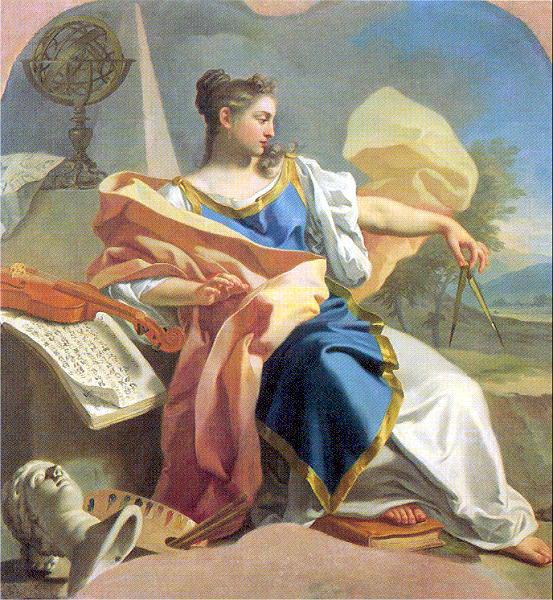 Mura, Francesco de (Italian, 1696-1782). The Italian artists