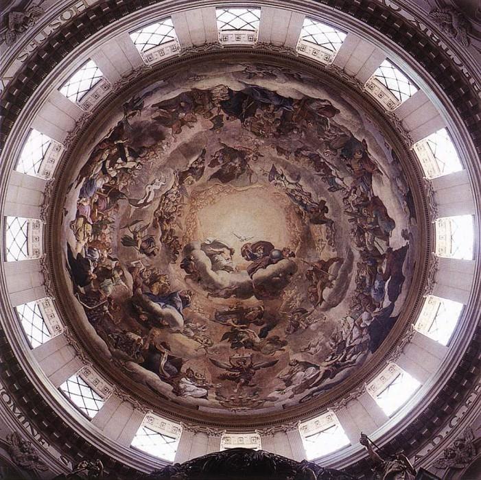MIGNARD Pierre The Heavenly Glory. The Italian artists