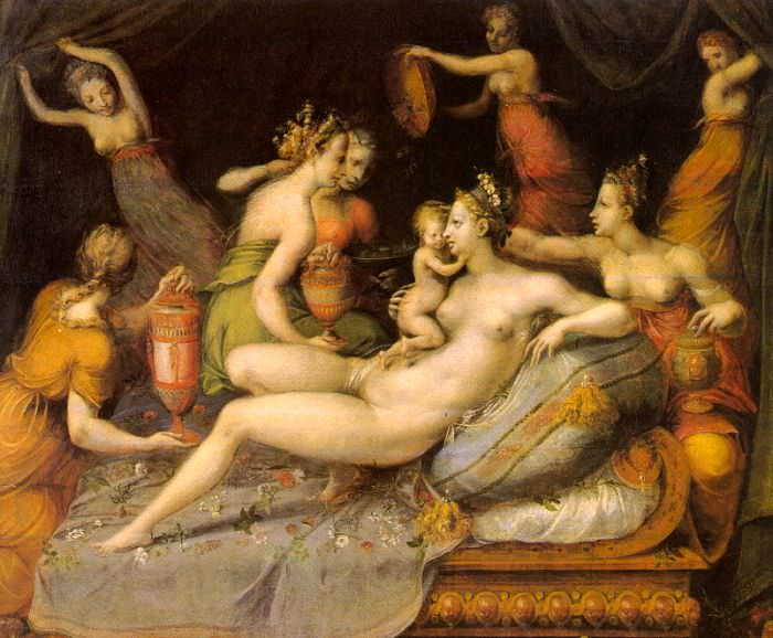 Flora, Master of (Italian, active late 1500s). The Italian artists