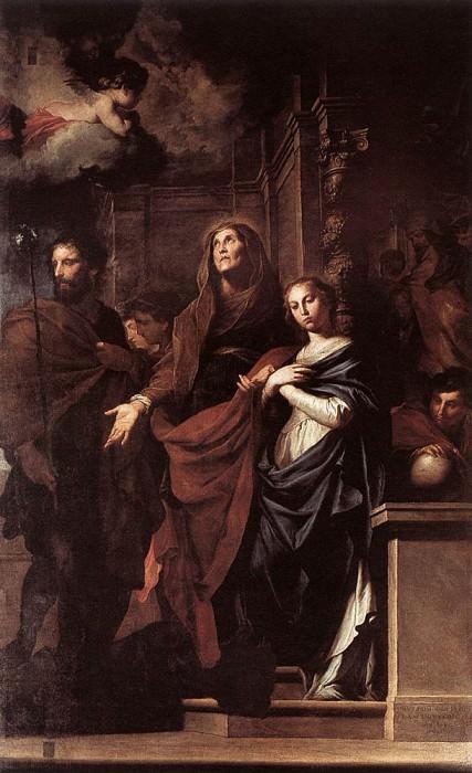 NOVELLI Pietro Marriage Of The Virgin. The Italian artists