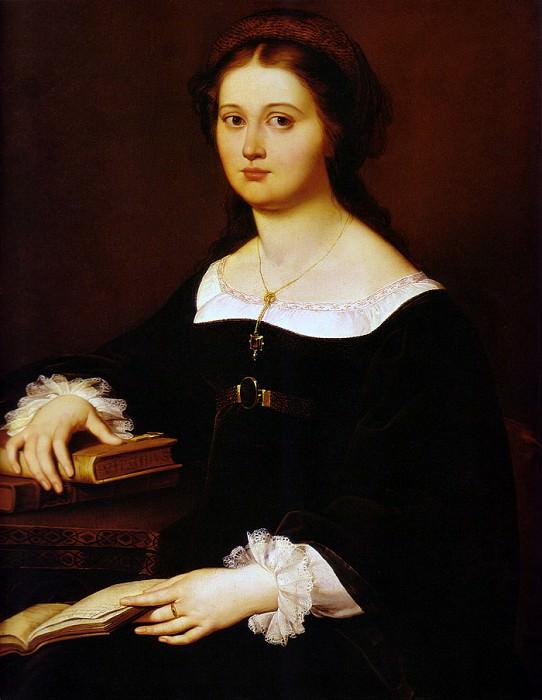 FillippoAgricola Constance Monti Perticari 1821Large. Итальянские художники