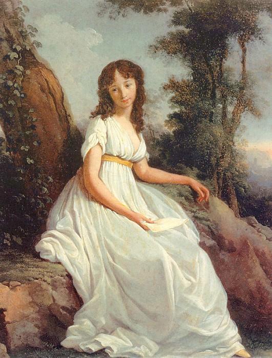 Mattieni, Teodoro (Italian, 1754-1831). The Italian artists