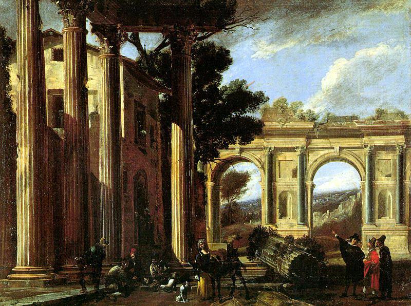 Codazzi, Viviano (Italian, 1604-1670). The Italian artists