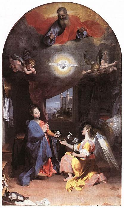 BAROCCI Federico Fiori Annunciation. The Italian artists