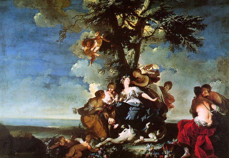 Ferretti, Giovanni Domenico (Italian, 1692-1747). The Italian artists