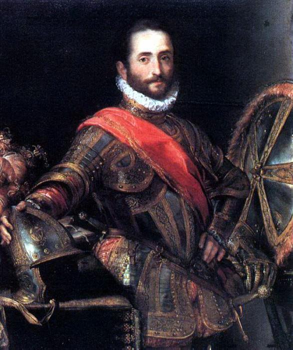 BAROCCI Federico Fiori Francesco II Della Rovere. The Italian artists