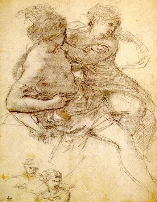 Пьетро да Кортона (Пьетро Берреттини, итальянец, 1596-1669). Итальянские художники
