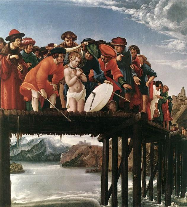 ALSLOOT Denis van The Martyrdom Of St Florian. The Italian artists