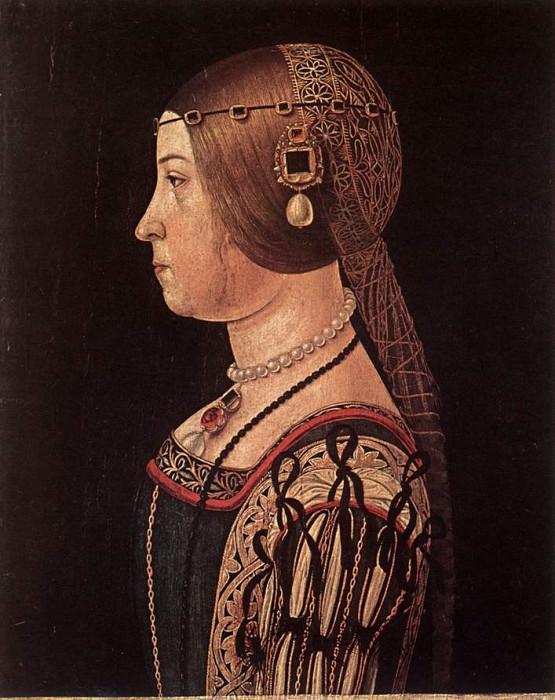 ARALDI Alessandro Portrait Of Barbara Pallavicino. The Italian artists