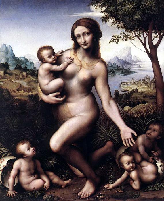 GIAMPIETRINO Leda. Итальянские художники