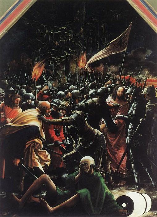 ALSLOOT Denis van The Arrest Of Christ. The Italian artists