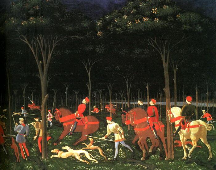 Ucello, Paolo (or Uccello, Italian, 1395-1475) 3. The Italian artists