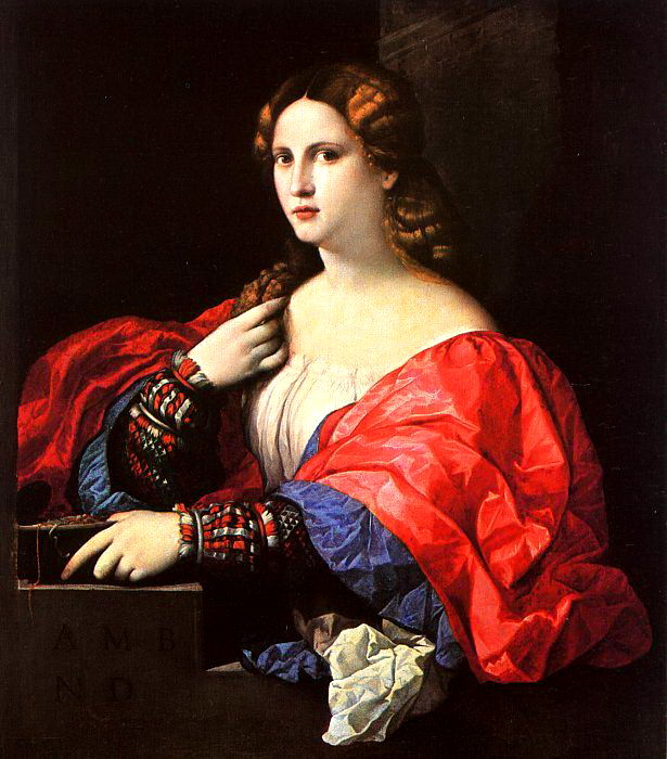 Vecchio, Palma (Jacopo Negretti, Italian, 1480-1528). Итальянские художники