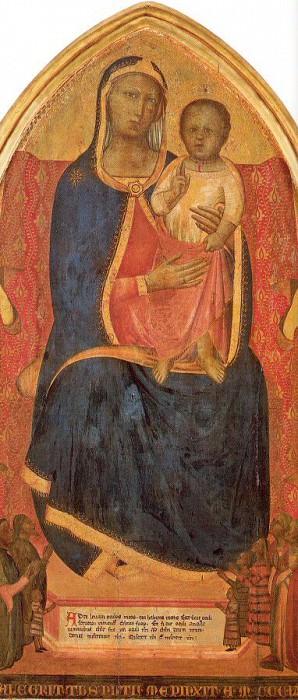 Nuzi, Allegretto (Italian, 1320-1373). Итальянские художники