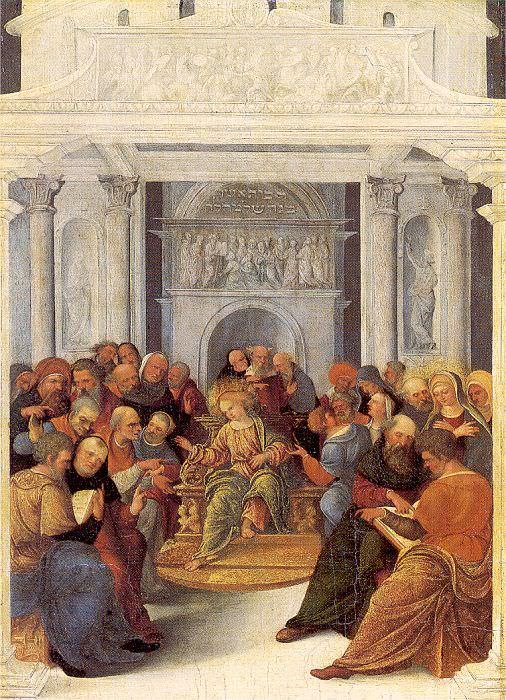 Mazzolino, Ludovico (Italian, active 1504-1530) 1. The Italian artists