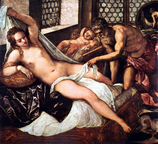 Tintoretto, Jacopo Robusti (Italian, 1518-1594) 2. The Italian artists