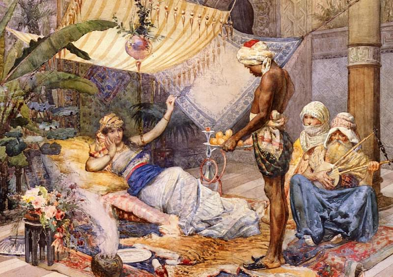 Fasce F In The Harem. The Italian artists