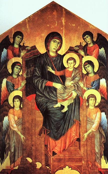 Cimabue (Cenni di Peppi, Italian, 1240-1302). Итальянские художники