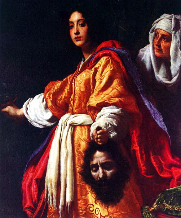 Allori Judith with the Head of Holofernes. The Italian artists
