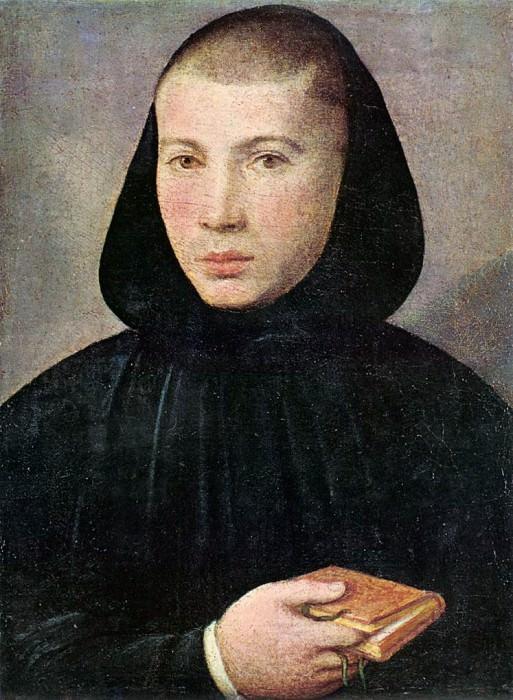 КАРОТО, Джованни Франческо - Портрет молодого бенедиктинца. Итальянские художники