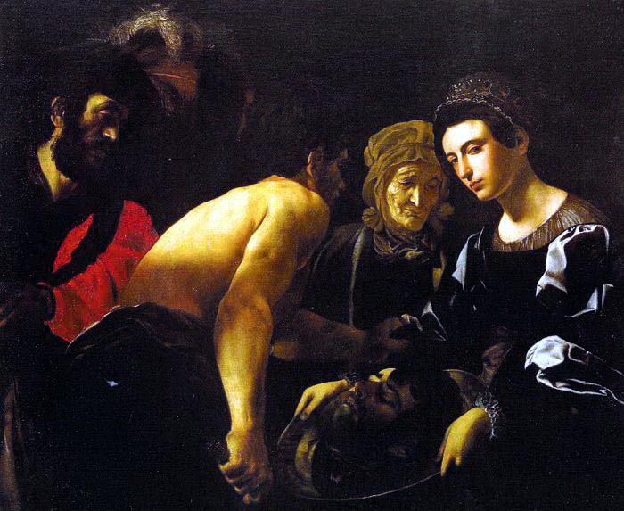 Caracciolo (Giovanni Battista, Italian, approx. 1578-1635) Battista Salome. The Italian artists