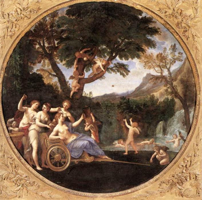 ALBANI Francesco Spring. The Italian artists