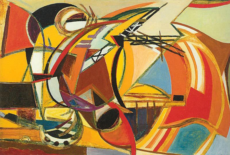 Pizzinato, Armando (Italian, Born 1910). The Italian artists