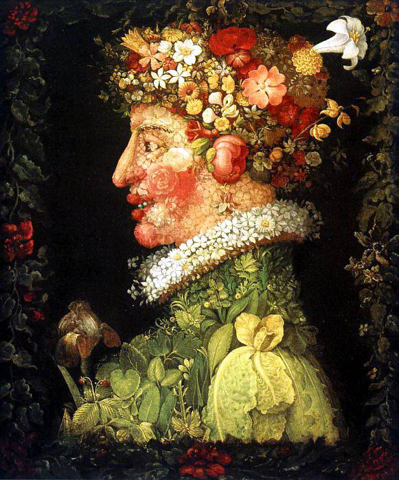 Arcimboldo, Giuseppe (Italian, approx. 1530-1593). The Italian artists