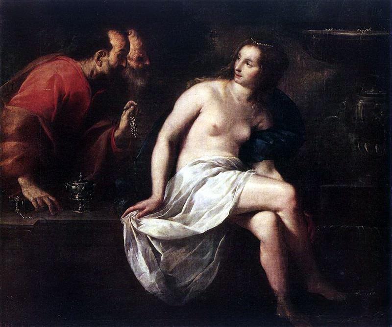 CAGNACCI Guido Susanna And The Elders. Итальянские художники