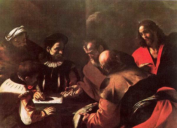 Preti, Mattia (Italian, 1613-99) 3. The Italian artists