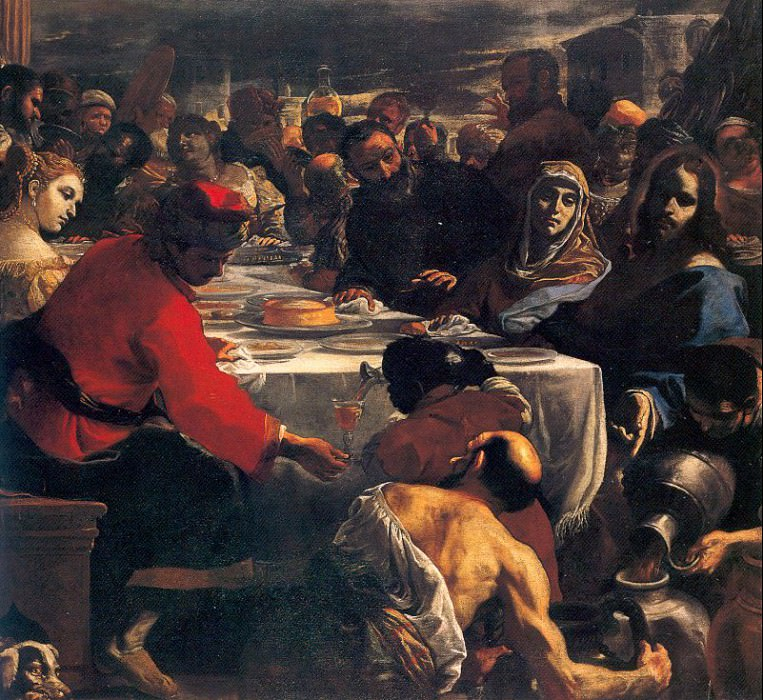 Preti, Mattia (Italian, 1613-99) 4. The Italian artists