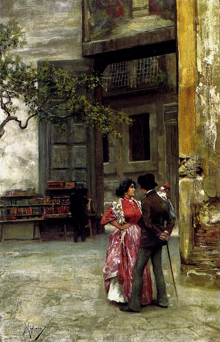 Migliaro Vincenzo The Afternoon Meeting. The Italian artists