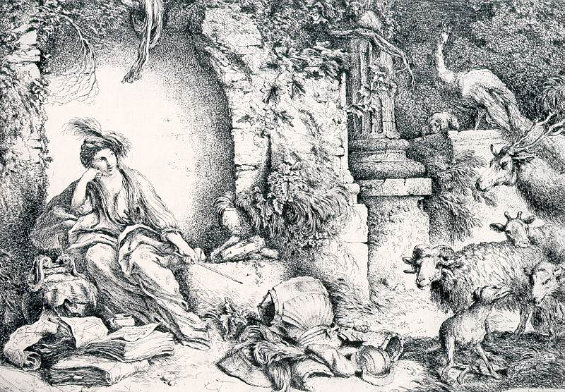 Кастильоне Джоваанни Бенедетто (итальянец, ок.1610-55). Итальянские художники