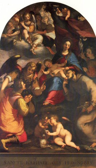 Paggi, Giovanni Battista (Italian, 1554-1627). The Italian artists