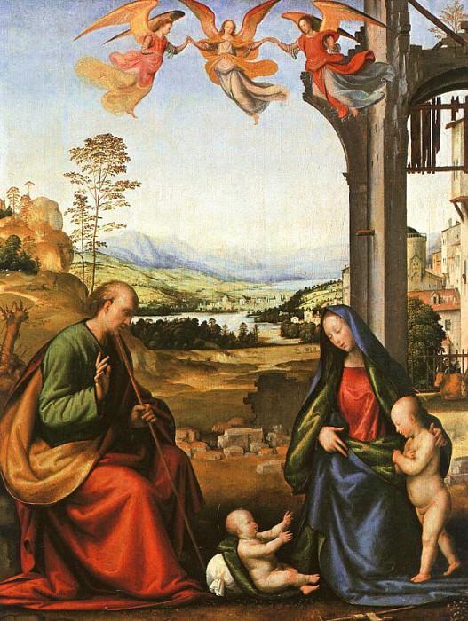 Фра Бартоломео (Баччо делла Порта, итальянец, 1472-1517). Итальянские художники
